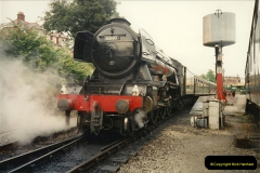 1994-07-18 to 22 Your Host spends a week driving Flying Scotsman.  (10) 031