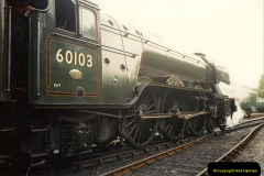 1994-07-18 to 22 Your Host spends a week driving Flying Scotsman.  (12) 033