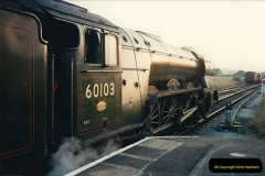 1994-07-18 to 22 Your Host spends a week driving Flying Scotsman.  (9) 030