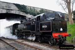 2019-03-22 Flying Scotsman at Swanage. (112) 285