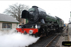 2019-03-22 Flying Scotsman at Swanage. (124) 297