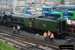 2019-03-22 Flying Scotsman at Swanage. (6) 179