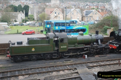 2019-03-22 Flying Scotsman at Swanage. (8) 181