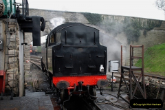2019-03-22 Flying Scotsman at Swanage. (87) 260