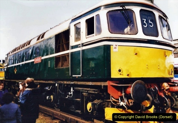 1992-09-12 Bournemouth Depot Open Day. (38) 038