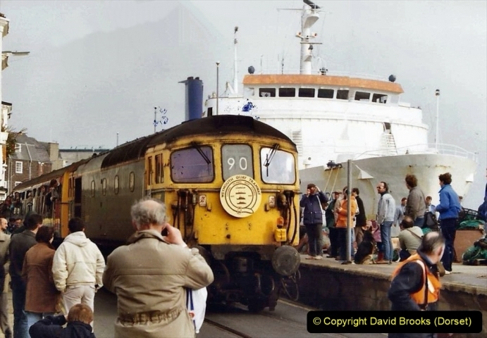 Various dates. (115) Fairwell to the Weymouth Quay Tramway, Weymouth, Dorset. 200