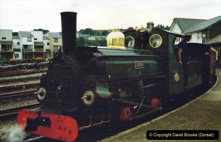 Various dates. (117) Ffestiniog Railway, Porthmadog, Gwynedd, North Walea. 202