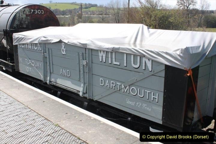 Various dates. (121) The South Devon Railway, Buckfastleigh, South Devon. 206