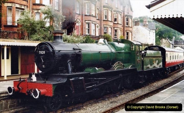 Various dates. (34)  Llangollen Railway, Denbighshire, North Wales. 121