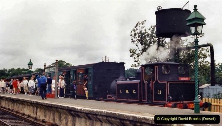 Various dates. (41)  IOW Steam Railway, Isle of Wight. 128