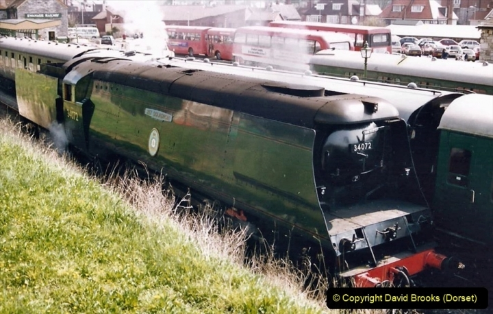 Various dates. (91) The Swanage Railway, Swanage, Dorset. 177