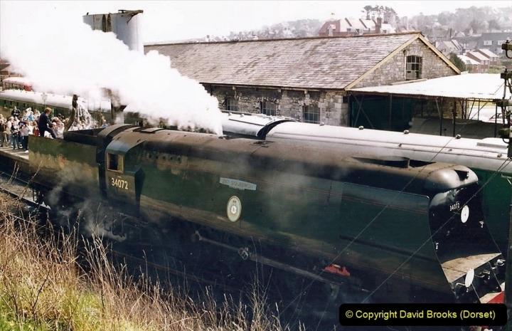 Various dates. (92) The Swanage Railway, Swanage, Dorset. 178