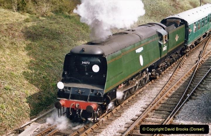 Various dates. (95) The Swanage Railway, Swanage, Dorset. 181