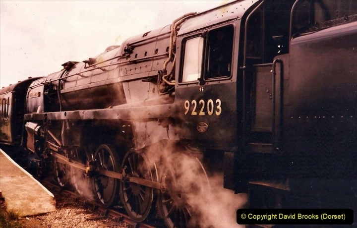 Various dates. (97) The Swanage Railway, Swanage, Dorset. 183