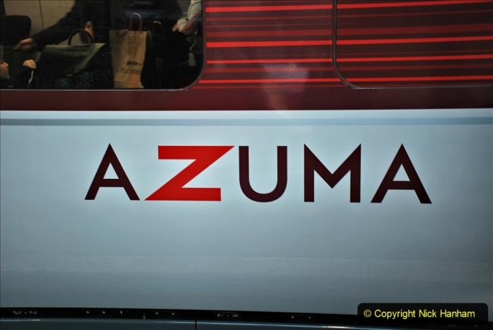 2019-12-15 London. (118) Azumas now operation on East Coast. 118
