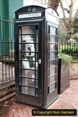 2019-12-16 London. (163) BT Black 'phone box.163