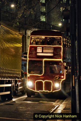 2019-12-16 London. (211) Festive Routemaster. 211