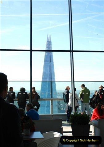 2018-09-24 Central London The Walkie Talkie Sky Garden) and Tower Bridge. (11)011