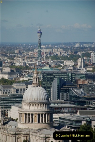 2018-09-24 Central London The Walkie Talkie Sky Garden) and Tower Bridge. (17)017