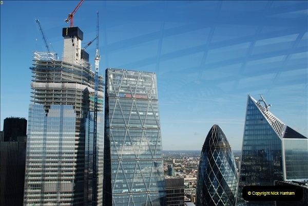 2018-09-24 Central London The Walkie Talkie Sky Garden) and Tower Bridge. (22)022