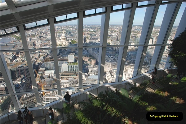 2018-09-24 Central London The Walkie Talkie Sky Garden) and Tower Bridge. (30)030