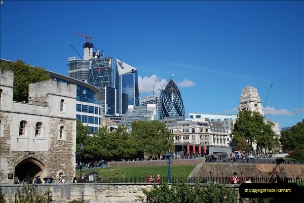 2018-09-24 Central London The Walkie Talkie Sky Garden) and Tower Bridge. (80)080