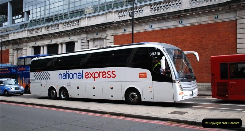 London (Central) Buses. April 2019
