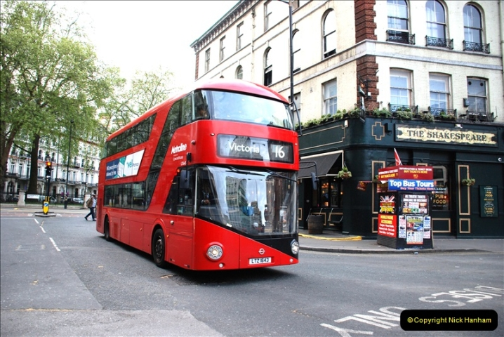 2019-04-29 to 30 Central London. (58) 58