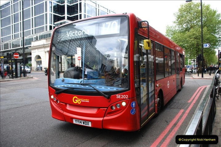2019-04-29 to 30 Central London. (84) 84