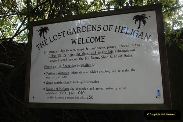 Lost Gardens of Helegan and the Eden Project 28 to 20 April 2009