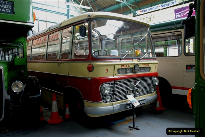 2019-06-02 MBF Meeting on the IOW. (101) The IOW Ryde Bus Museum. 102