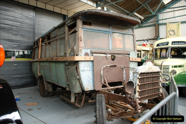 2019-06-02 MBF Meeting on the IOW. (109) The IOW Ryde Bus Museum. 110