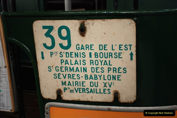 2019-06-02 MBF Meeting on the IOW. (169) The IOW Ryde Bus Museum. Paris bus and other Paris bus items. 170