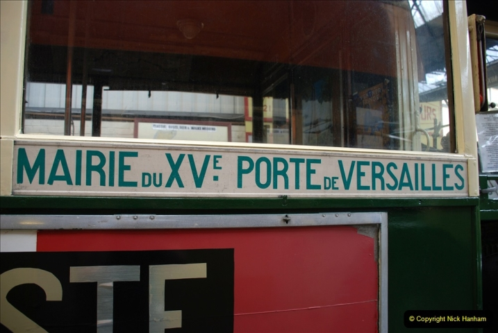 2019-06-02 MBF Meeting on the IOW. (172) The IOW Ryde Bus Museum. Paris bus and other Paris bus items. 173