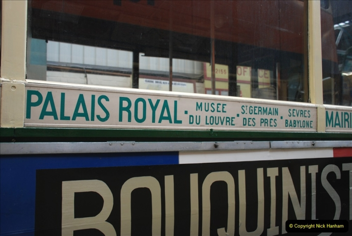 2019-06-02 MBF Meeting on the IOW. (173) The IOW Ryde Bus Museum. Paris bus and other Paris bus items. 174