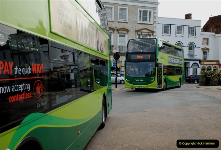 2019-06-02 MBF Meeting on the IOW. (224) Three more bus rides back to Yarmouth. 225