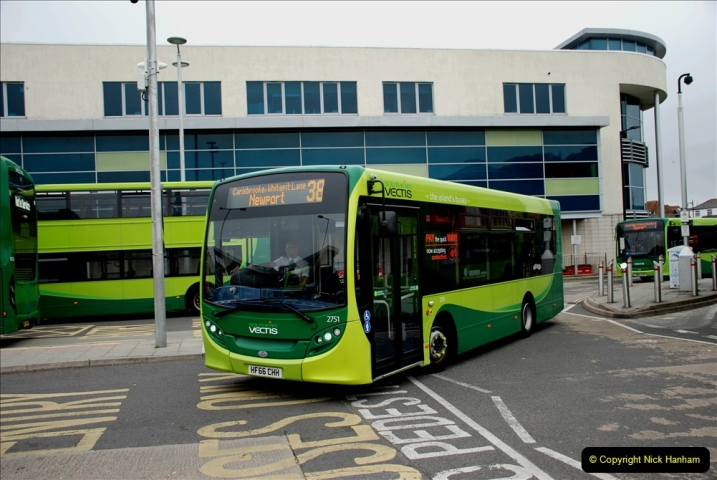2019-06-02 MBF Meeting on the IOW. (227) Three more bus rides back to Yarmouth. 228