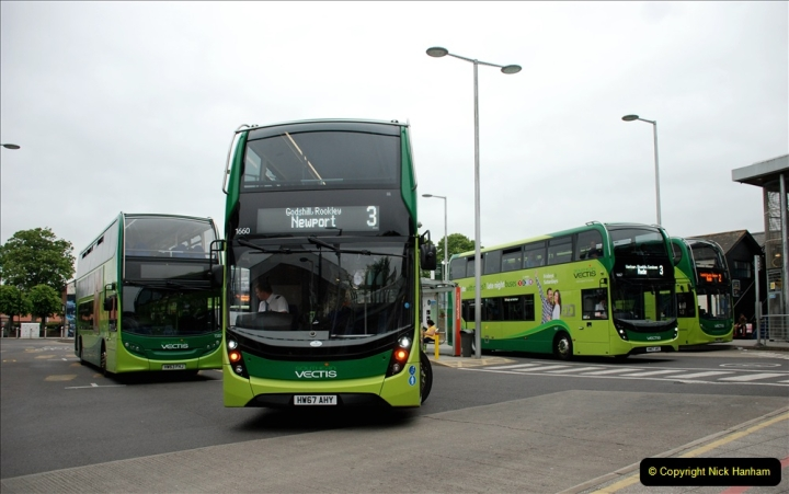2019-06-02 MBF Meeting on the IOW. (233) Three more bus rides back to Yarmouth. 234