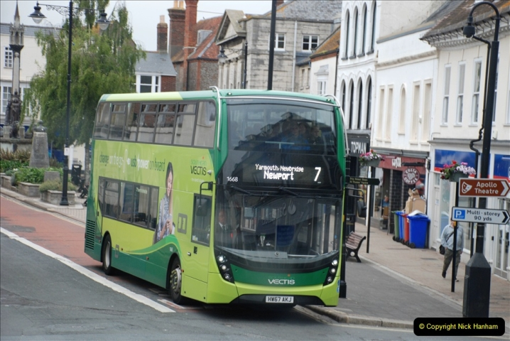 2019-06-02 MBF Meeting on the IOW. (238) Three more bus rides back to Yarmouth. 239