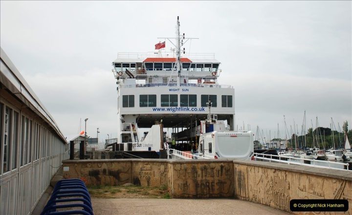 2019-06-02 MBF Meeting on the IOW. (26) IOW ferry. 027