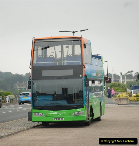 2019-06-02 MBF Meeting on the IOW. (45) Three different buses to get to the Ryde Bus Museun for the meeting. 046