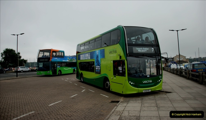 2019-06-02 MBF Meeting on the IOW. (47) Three different buses to get to the Ryde Bus Museun for the meeting. 048