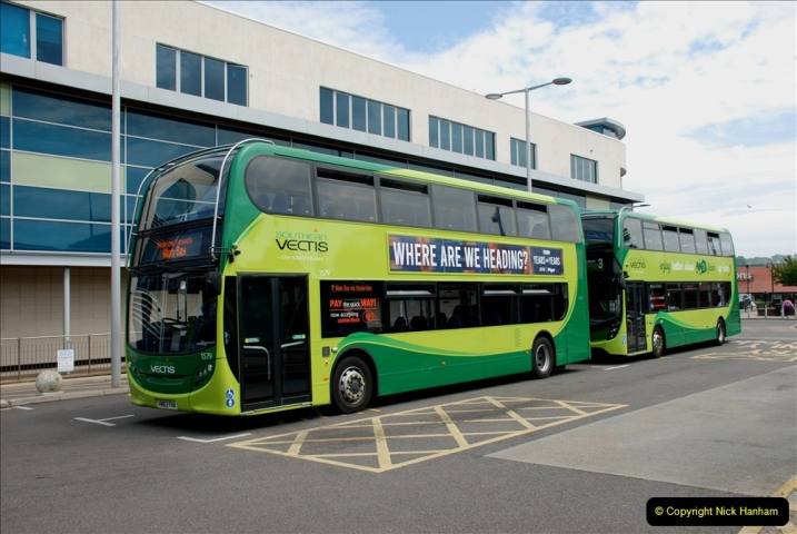 2019-06-02 MBF Meeting on the IOW. (49) Three different buses to get to the Ryde Bus Museun for the meeting. 050