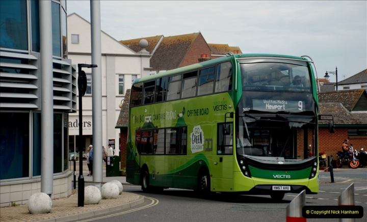2019-06-02 MBF Meeting on the IOW. (54) Three different buses to get to the Ryde Bus Museun for the meeting. 055
