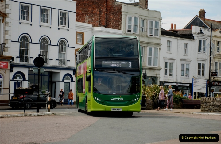 2019-06-02 MBF Meeting on the IOW. (60) Three different buses to get to the Ryde Bus Museun for the meeting. 061