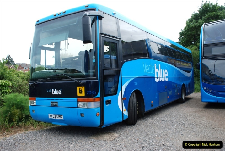 2019-06-02 MBF Meeting on the IOW. (84) The Museum is also a Vectis Blue parking area. 085