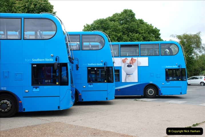2019-06-02 MBF Meeting on the IOW. (87) The Museum is also a Vectis Blue parking area. 088