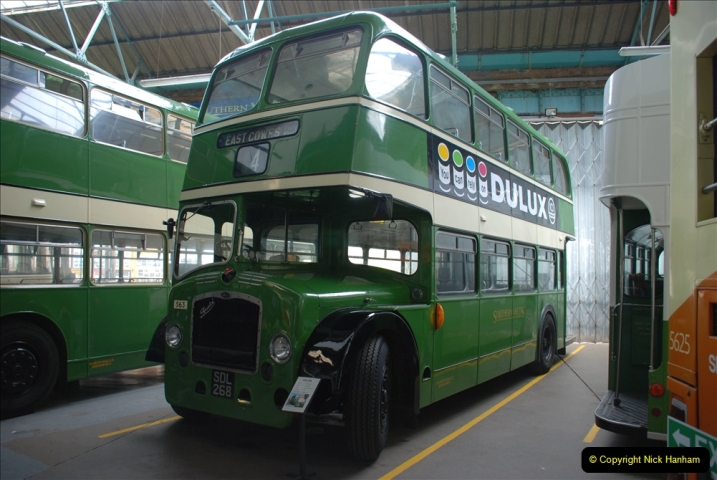 2019-06-02 MBF Meeting on the IOW. (94) The IOW Ryde Bus Museum. 095