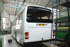 2019-06-02 MBF Meeting on the IOW. (133) The IOW Ryde Bus Museum workshop.  134