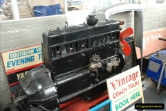 2019-06-02 MBF Meeting on the IOW. (164) The IOW Ryde Bus Museum bus engines display. 165